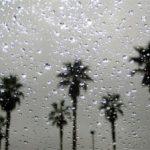 Rain Pounds Central Coast